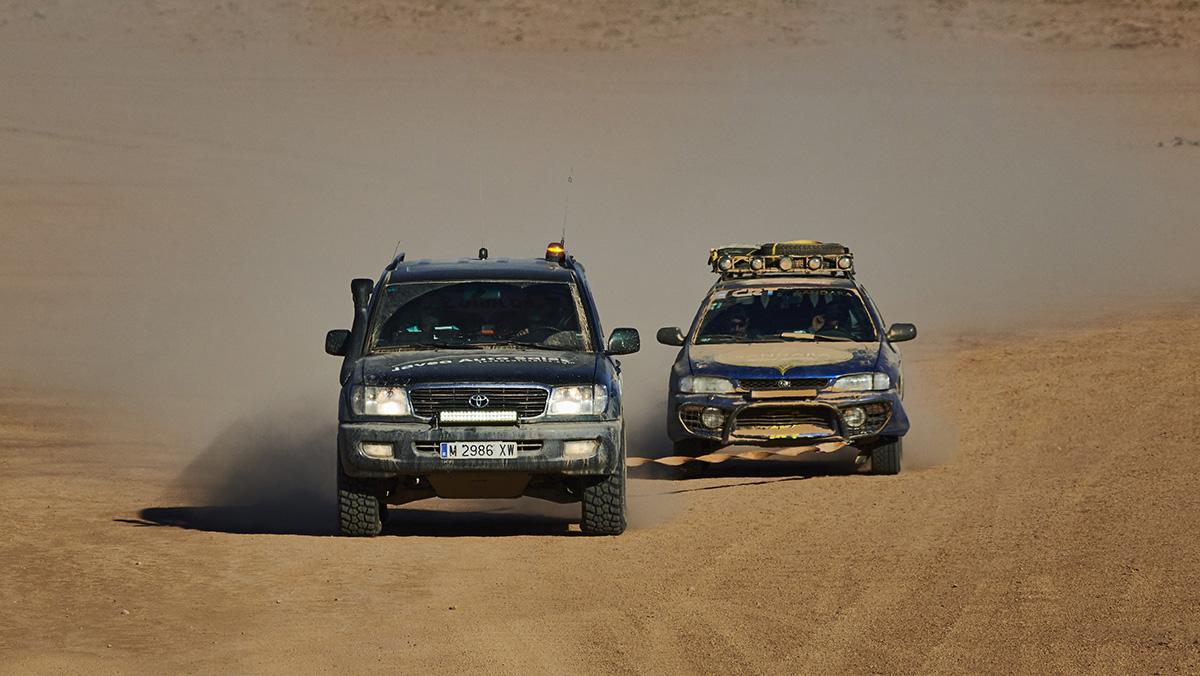 Vehículo de recaste mecanico de la Maroc Challenge
